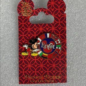 Disney Parks Mickey Epcot Pin New